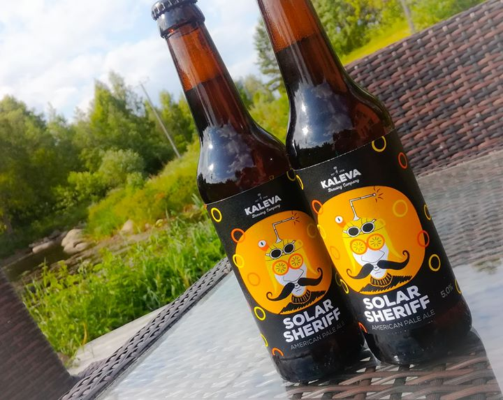 Lisää läheltä! Saimme pikkuerän Kaleva Brewing Companyn...