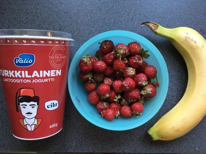 Hain eilen Niitty-Seppälän kesätorilta laatikollisen pi...